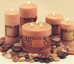 Candles sold by Southwest Candle Shoppe